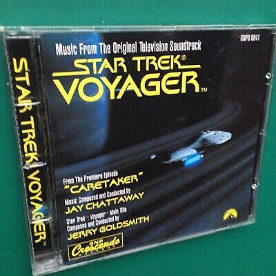 Jay Chattaway STAR TREK VOYAGER TV Soundtrack Score CD Caretaker Jerry Goldsmith