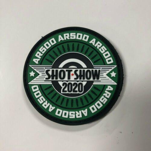 AR500 Morale Patch Shot Show 2020
