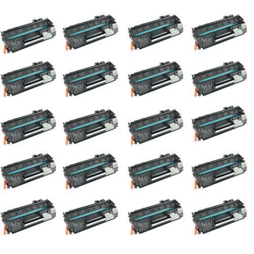 20pk High Yield Cf280x Toner Cartridge For Hp Laserjet Pr...