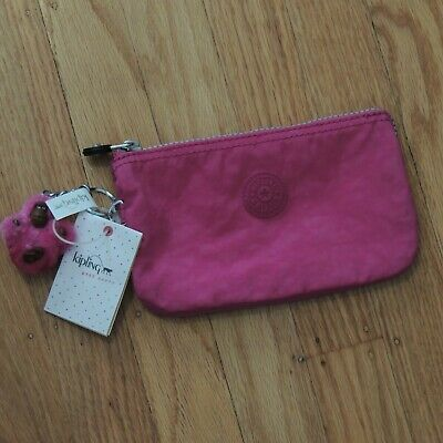 Kipling Creativity Small Bag Wallet Very Berry Pink NEW