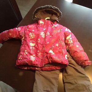 Habit neige Souris mini fille 3 ans