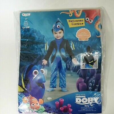 Disney Finding Dory Deluxe Infant Costume Size 12-18M Jumpsuit Headpiece Nemo ](Nemo Infant Costume)