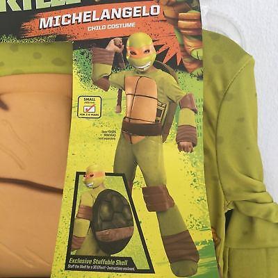 Halloween Nickelodeon Teenage Mutant Ninja Turtle Michelangelo Kids Costume S4-6 - Halloween Ninja Turtle Costume