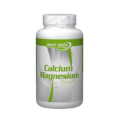 Calcium-magnesium-100 Kapsel ((10,84€/1kg) Best Body Nutrition Calcium Magnesium (100 Kapseln))