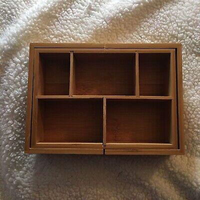 Exbandable Wooden Desk Organizer