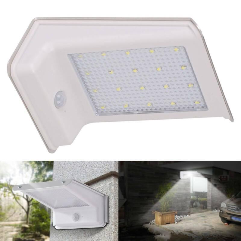 Light SECURITY LED Garden Solar Powered Motion Sensor Outdoor Lamp 8//20//55
