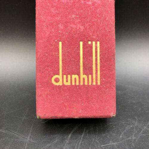 Vintage Dunhill Lighter Flocked Box Only Dark Red Maroon
