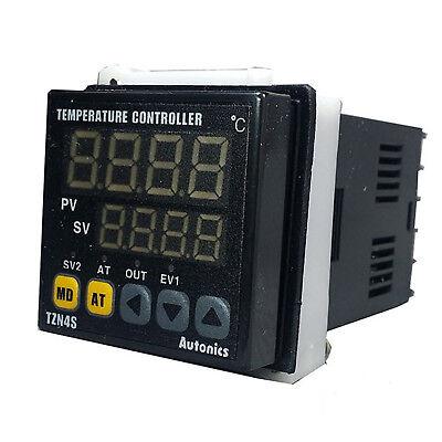 Autonics Tzn4s-14r Pid Temperature Controller 48x48 100240vac Relay Output