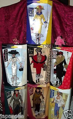 BARBIE COMPLETE COLLECTOR EDITION CITY SEASONS COLLECTION MIB BY F.A.O SCHWARZ