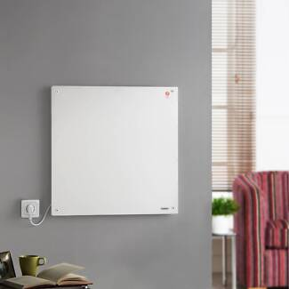 Sleek 425W Eco Paintable Wall Panel Heater with 7 Day Timer