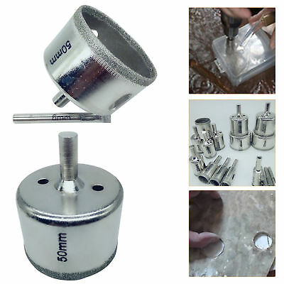 4PC DIAMOND HOLE SAW 33-73MM Tile Ceramic Porcelain Glass Drill Bit Cutter best