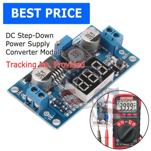 LM2596 Buck Step-down Power Converter Module DC 4.0~40 to 1.3-37V LED Volt N36