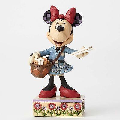 Disney*POSTAL CARRIER MINNIE MOUSE*Jim Shore Figurine*NEW*NIB*4049633