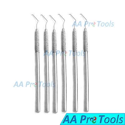 6 Dental Explorer 17 Hook Probe Single Ended Surgical Instruments