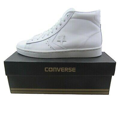 Converse Pro Leather 76 Mid Triple White Sneakers 155335C Mens Multi Size