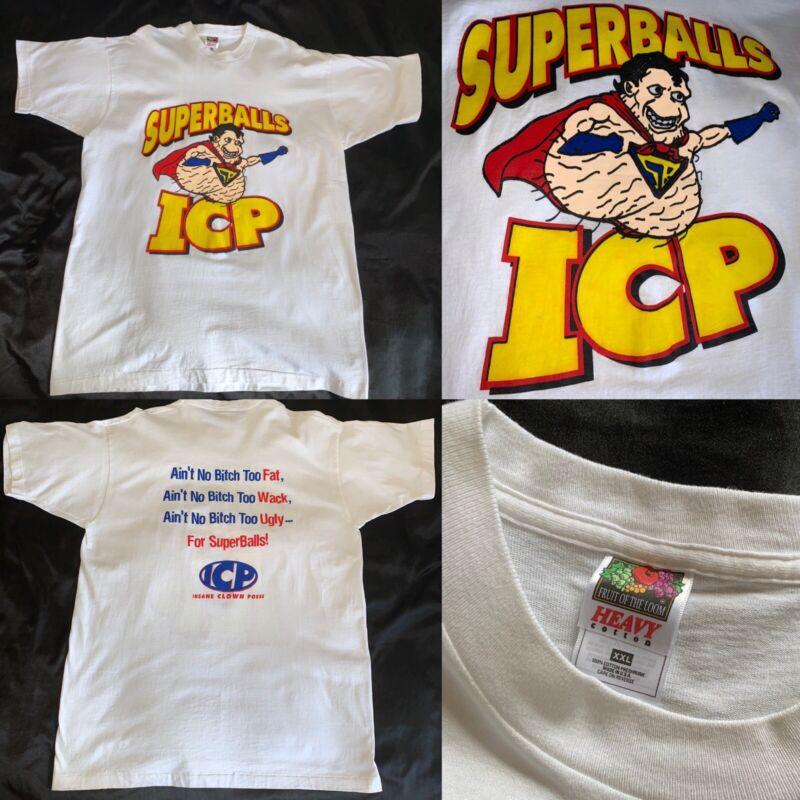 ICP OG Superballs shirt 1996 XXL FOTL - Insane Clown Posse Esham Twiztid vtg 90s
