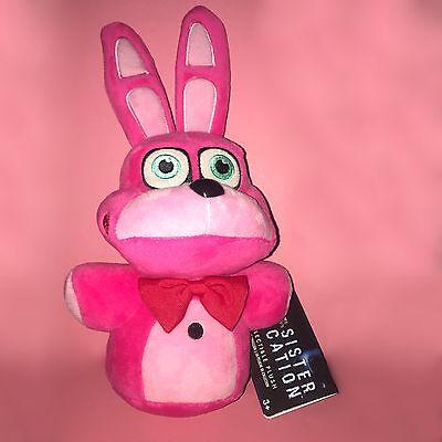 Funko Fnaf 8  Bonnet Plush Sister Location Walmart Exclusive Pink Bonnie Bunny