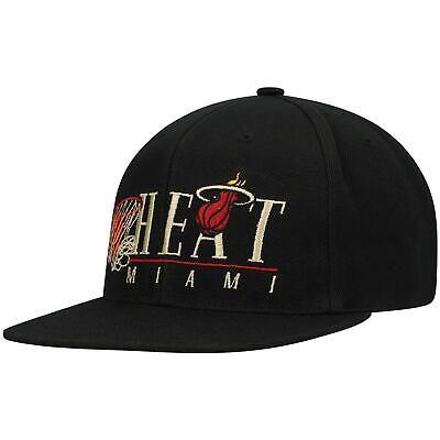 Miami Heat Mitchell & Ness Hardwood Classics Vintage 2 Adjustable Snapback Hat -