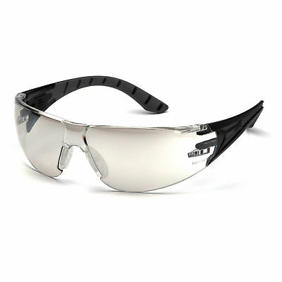 Pyramax Endeavor Plus Safety Glasses with Indoor/Outdoor Mirror (Glasses With Mirror)