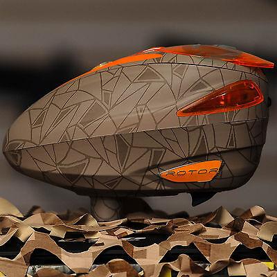 NEW Dye Rotor Electronic Paintball Hopper Loader - UL Dust Orange