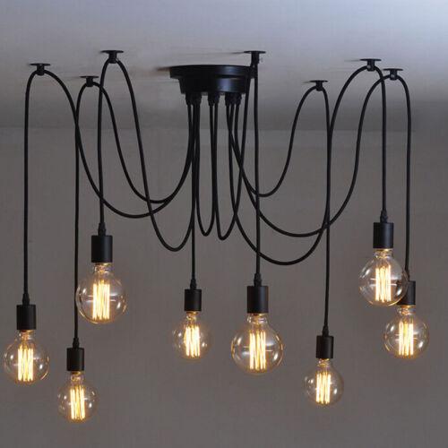 Vintage Leuchte Retro Deckenlampe Pendelleuchte Kronleuchter Loft Edison Lampen
