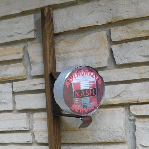NASH Car logo emblem miniature wall post service part Sign USA made