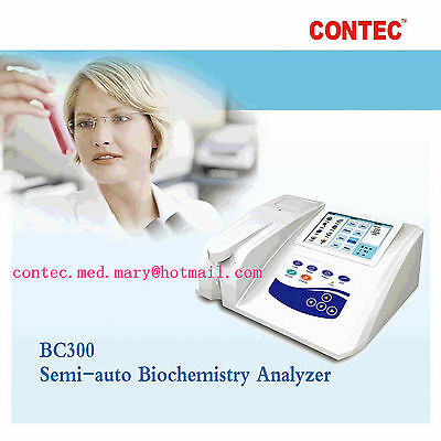 New Touch Bc300 Semi-auto Biochemistry Analyzer With Open Reagent2y Warranty