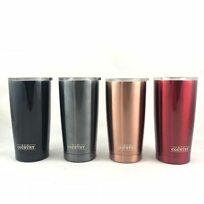 Double Wall Stainless Steel Tumbler, 20oz, Various Colors