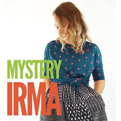 Lularoe Mystery Irma New W  Tags Sz Xxs Xs S M L Xl 2X 3X   Free Fashion Item