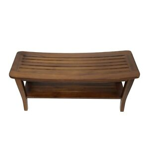 Teak Shower Bench | eBay