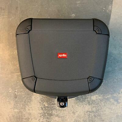 Aprilia Scarabeo 125 150 200 250  AP8149336 Rear Box Top Case in Tough Gray Lock