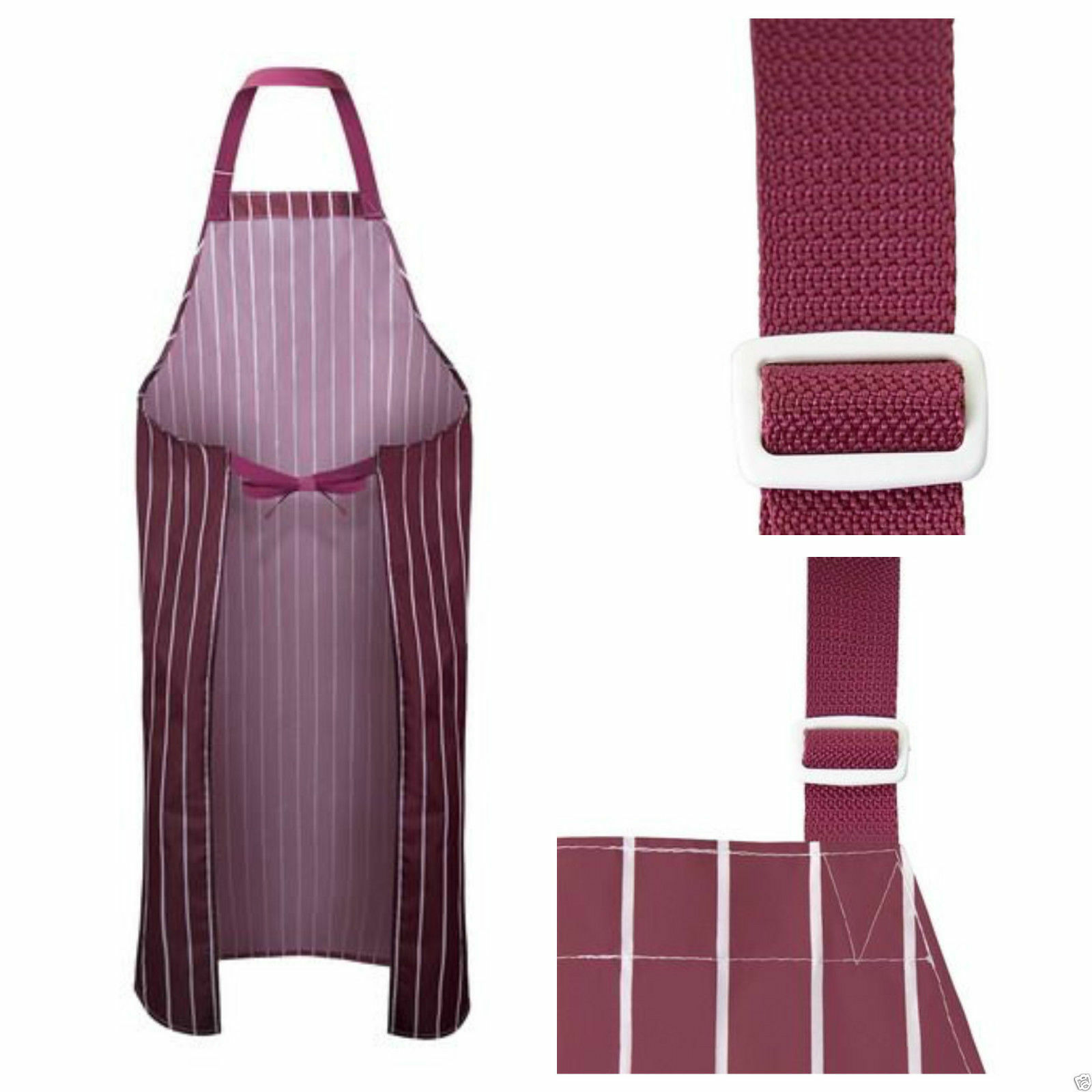 Heavy Duty Aprons : Heavy duty waterproof chef apron kitchen butcher cooking