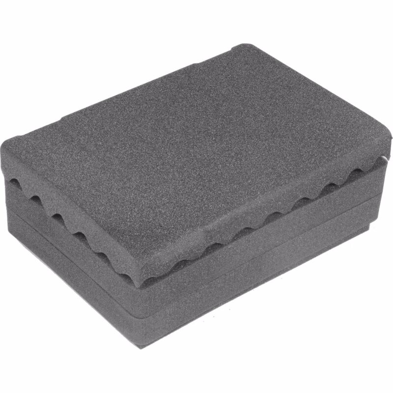 4 piece Upgraded replacement Foam set for the Pelican 1500. (2 middle pluck)