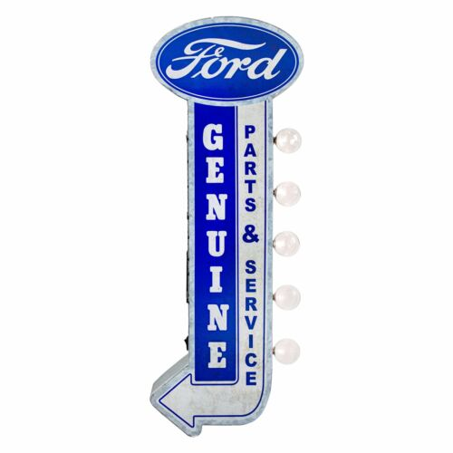 Genuine Ford Parts & Service LED Marquee Garage Sign -Double Sided Light Marquee
