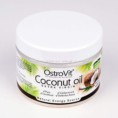 Coconut Oil 400g RAW Cold Pressed Extra Virgin Organic Best For Frying / (Best Organic Beauty Products)