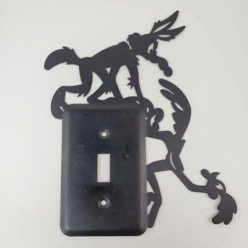 Wiley E Coyote & Roadrunner Black Silhouette Light Switch Cover Warner Bros.