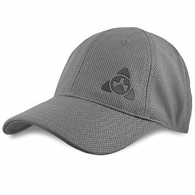 Magpul Core Cover Men's Ballcap Tactical Stretch Fit Baseball Cap Stealth Grey Stealth Stretch Fit Cap