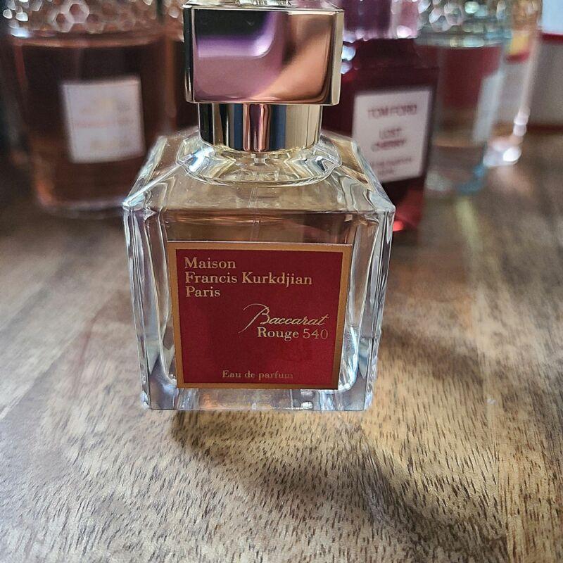maison francis kurkdjian - baccarat rouge 540 - choose size- mini glass spray