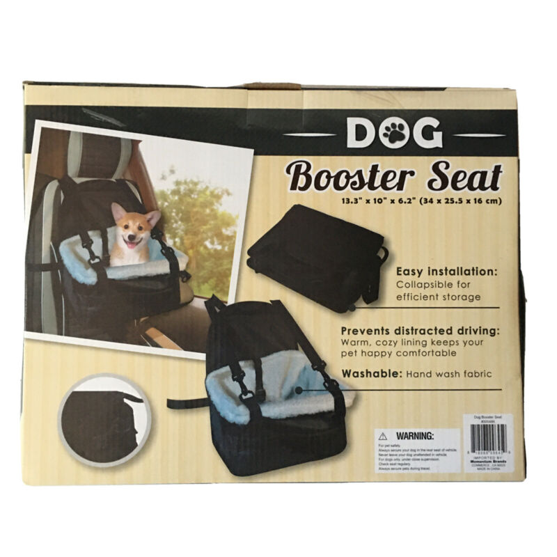 Dog Booster Seat Warm Cozy Lining Keep Your Pet Happy Comfortable H-35