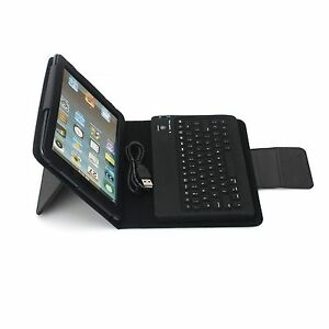 Leather Bluetooth Keyboard Case Cover For Samsung Galaxy Tab 7 inch Tablet P1000