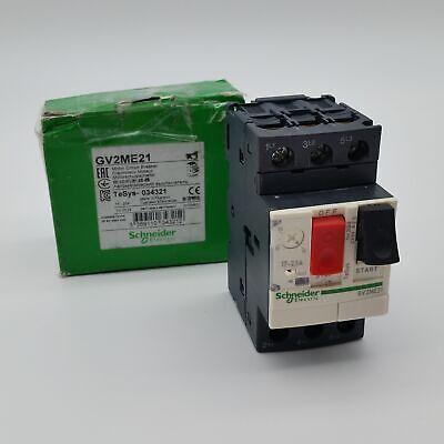 New Schneider GV2ME21 Motor Circuit Breaker 3Phase AC 440V 23A - Worn Box