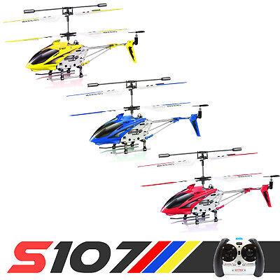 Cheerwing S107G Phantom 3.5CH Mini Metal Remote Control RC Helicopter GYRO