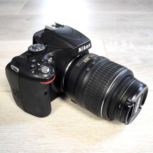 Nikon D5100 16.2MP DSLR Camera - Nikkor AF-S 18-55mm Lens + 2 Batteries