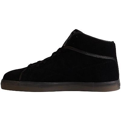 ... REEBOK T RAWW CLASSIC CASUAL FASHION MID TOP SUEDE SNEAKER BLACK NEW  MENS 8-13 ... b57ad772d