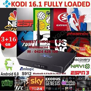 Android tv box 2017 latest 3gb/16GB S912 bluetooth octa core 4K Noble Park Greater Dandenong Preview