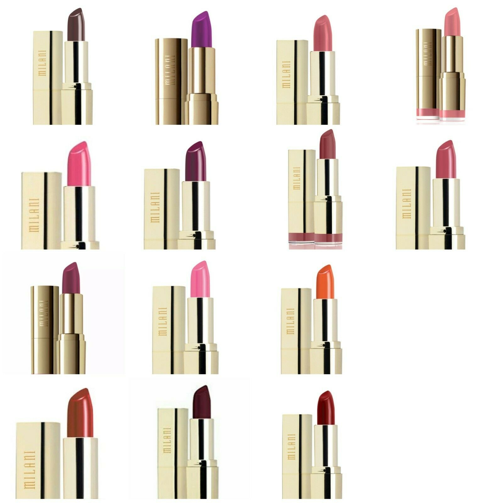 Milani Color Statement Lipstick ~ Pick Your Color ~ Free Sam