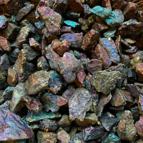 3000 Carat Lots of (SMALL) Peacock Ore Rough - Plus a FREE Faceted Gemstone