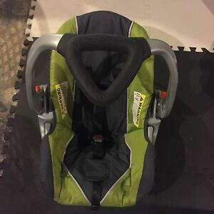 Car seat with stroller