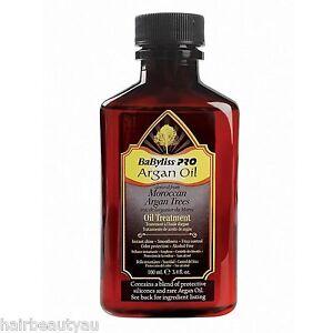 BABYLISS PRO ARGAN OIL TREATMENT 100 ML FREE SHIPPING