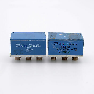Mini-circuits 15542 Zsc-2-1 Splitters Pair Free Shipping